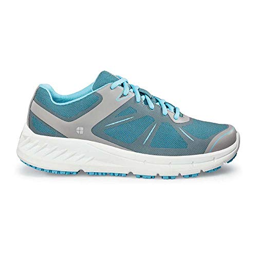 Shoes For Crews (Europe) Ltd. Shoes For Crews 24759 VITALITY II Damen Rutschhemmende Sportliche Schuhe, 36 Größe Blau Grau