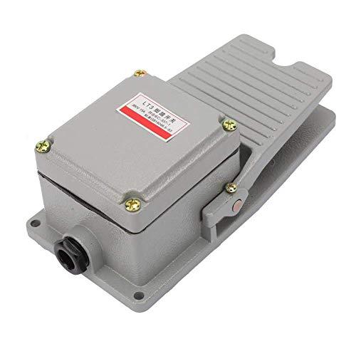 Interruptor de pie, LT3 Antideslizante Metal momentáneo Energía eléctrica Punzón de pie...