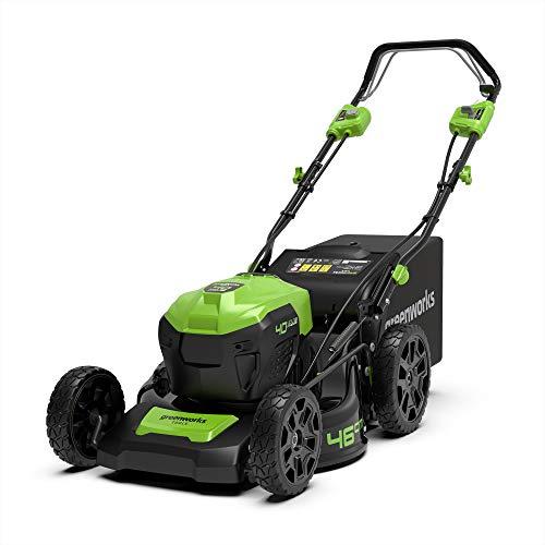 Greenworks Tools 40V Akku-Rasenmäher 46cm brushless mit Radantrieb 2506807( ohne Akku und Ladegerät)