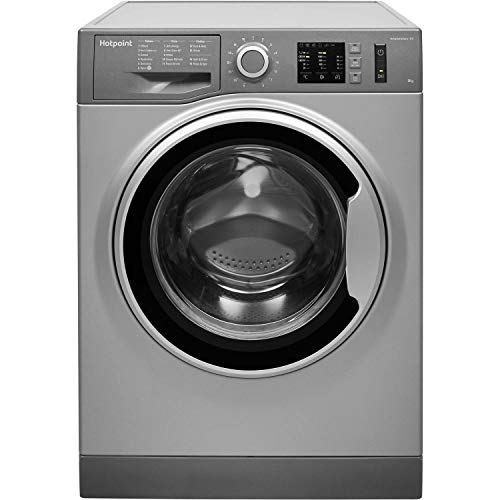 HOTPOINT NM10944GS 9kg 1400rpm Freestanding Washing Machine - Graphite