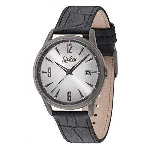 Sixties Unisex-Armbanduhr im Stil der 60er Jahre | Times Change - Style Doesn't | Für modebewusste Damen & Herren - Klassische Uhren im coolen Retro-Design
