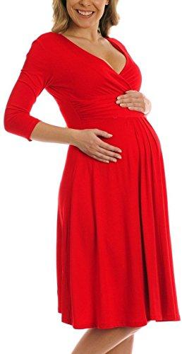 TINYHI Womens Maternity Pregnancy Easy Breastfeeding Circle Jersey Dress ma