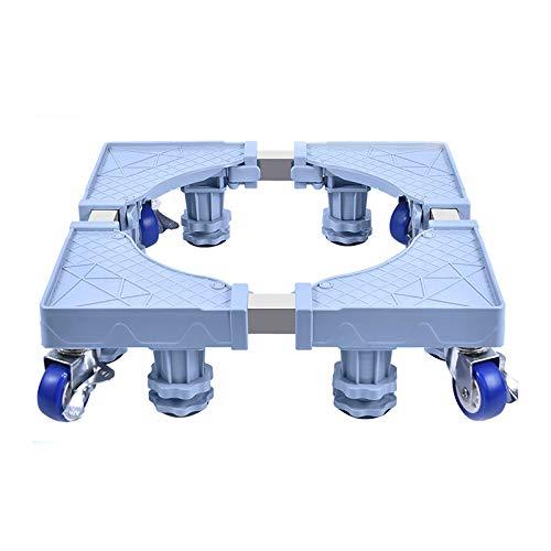 Threesome Soporte De Base para Lavadora,Base Ajustable Multifunciona,Adecuado para Refrigerador& Lavadora Soporte De Base para,Antideslizante