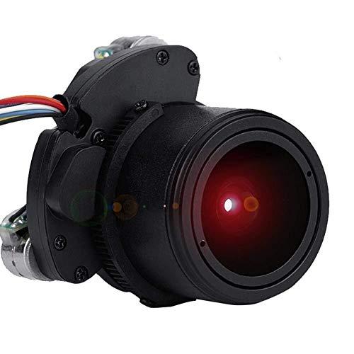 Wingeri Lente de la cámara Cámara de Seguridad CCTV 2.8-12mm Foco de Zoom automático, Lente de Placa de visión Nocturna MTV de Alta definición de 3MP for cámara IP de Seguridad Práctico