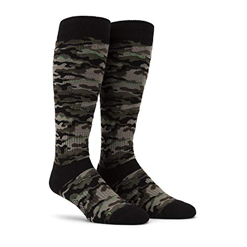 Volcom Herren Synth Snowboard-Socken, Army, Small-Medium