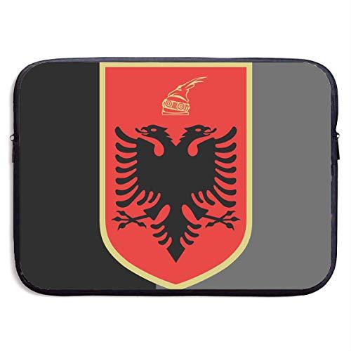 Zome Lag Escudo De Armas De Albania Estuches para Tablet Pc,Fundas Blandas para Tablets,Funda para Portátil,Hombre/Mujer Tableta Sleeve,Funda Protectora,Maletín Funda 13In