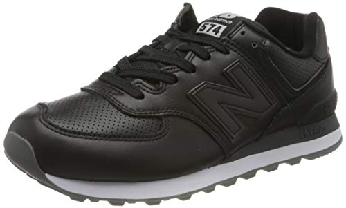 New Balance 574v2, Sneaker Uomo, Nero (Black/White Black/White), 42.5 EU