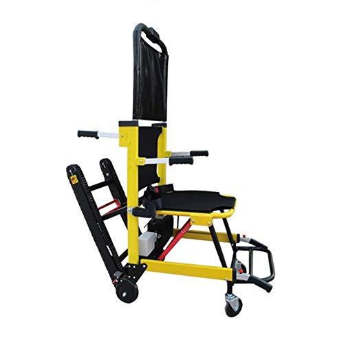 WM Silla de Ruedas Ligera/Plegable Silla de Ruedas eléctrica para Subir escaleras El chasis de elevación Inteligente Puede Subir y Bajar escaleras Personas Mayores con discapacidades