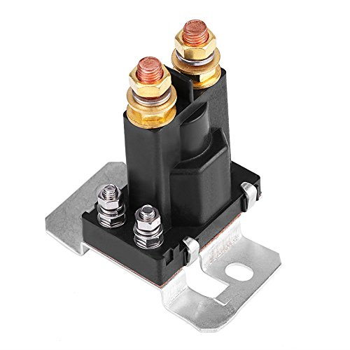 12VDC 200A High Current Relay Contactor 4 Pin Auto Car Starter Relay Contactor, Automobile Motor Contactor Power Motor Control On/Off Switch