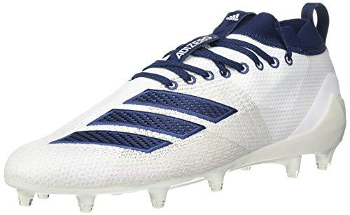 adidas Herren Adizero 8.0 Fußballschuh, Weiá (Weiß/Collegiate Navy/Noble Indigo), 51 EU