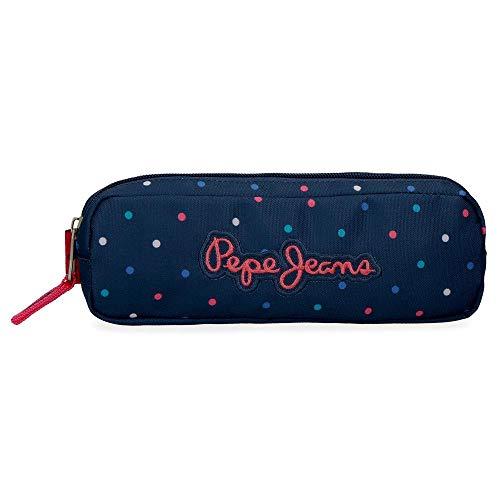 Estuche Pepe Jeans Molly, Azul, 22x7x3 cm