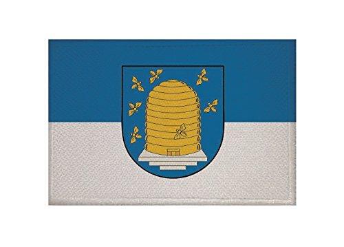 U24 Aufnäher Ebeleben Fahne Flagge Aufbügler Patch 9 x 6 cm