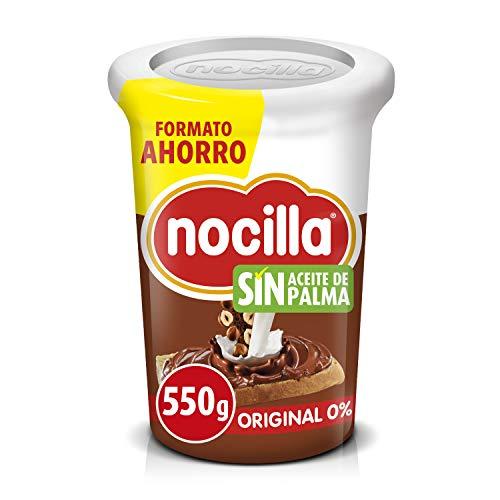 Nocilla Original 0{b29c9ebe7dd395ae9bd9aee08a1c04d4180a94ba38a01a318a7b8435c0c8a18e} Azúcares Añadidos - Sin Aceite de Palma - 550g