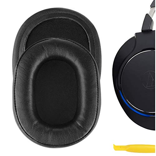 Geekria QuickFit ProteinLeather Replacement Ear Pads for ATH-MSR7...