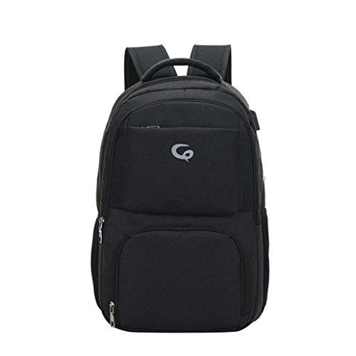 Zarupeng Laptoprugzak, unisex daypacks draagbare oplaadbare waterdichte rugzak computertassen reisrugzak