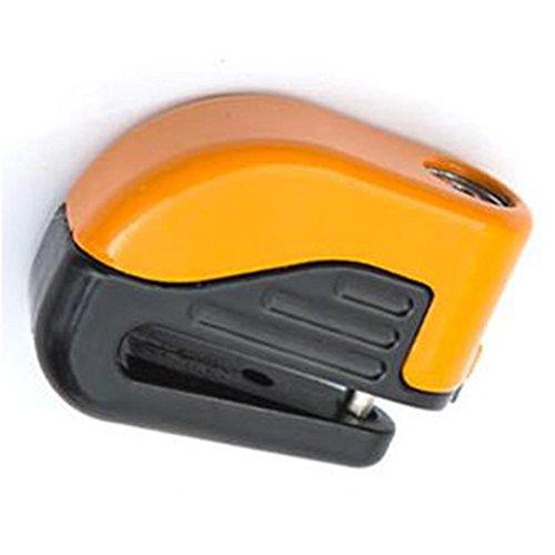 JT outdoor rijsport-pers-art sluiting en alarmsysteem mode Durable Mountain Bike schijfrem Lock, oranje, 60 * 80