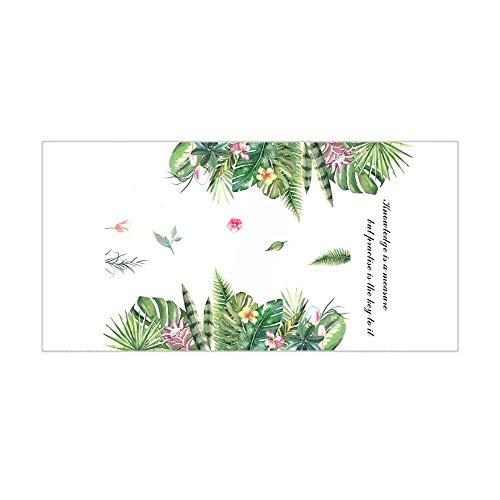 Muursticker niet-giftig plant sticker hoofddecoratie geschikt voor woonkamer slaapkamer werkkamer badkamer hal