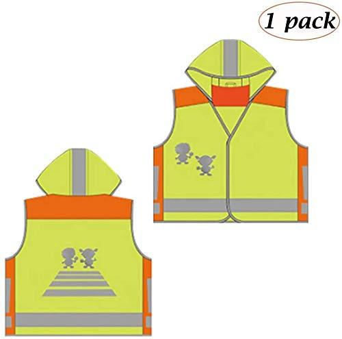 Studenten Veiligheid Vesten Kinderen Reflective vest hoge zichtbaarheid verkeersveiligheid Night Coat Kleding Jacket Jongens Meisjes Public Riding Beschermende XMJ