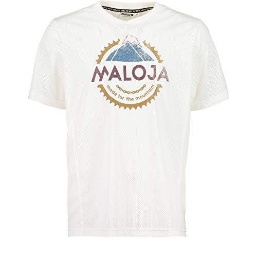 Maloja ernestm Shirt, Herren S Weiß (Vintage White)