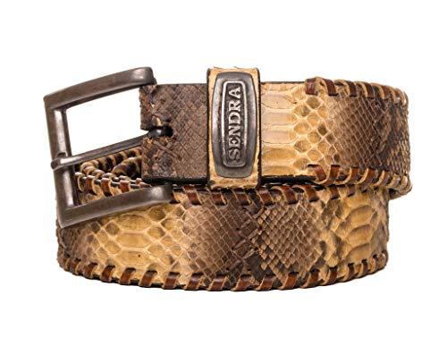 Sendra Boots M1009 riem van natuurlijk gekleurd python