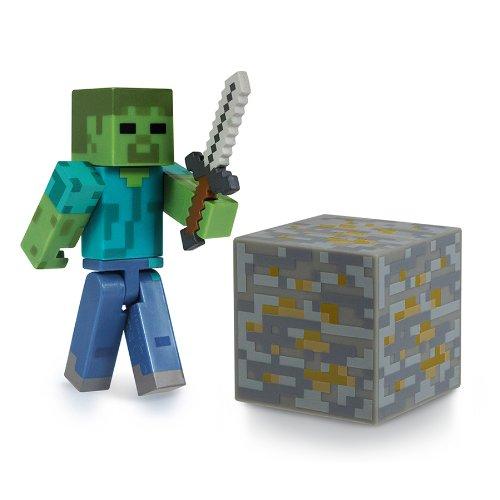 Minecraft 16509 - Zombie, bewegliche Figur mit Zubehör