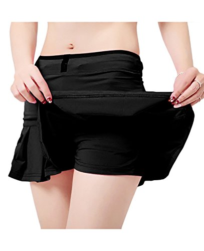 UDIY Sports Skirt - Women's Running Skorts Casual Gym Tennis Skort with Shorts Inner