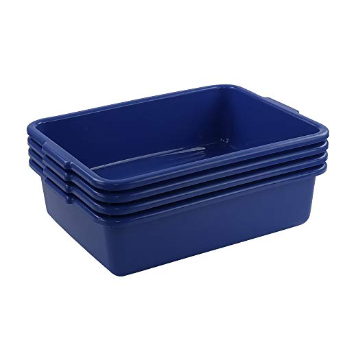 Cand Commercial Bus Tubs 13 L Plastic Bus BoxWash Basin 4 Packs