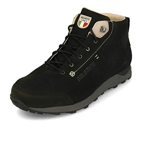 Dolomite Bota Move Road Mid GTX, Chaussure Bateau Homme, Noir, 46 1/3 EU