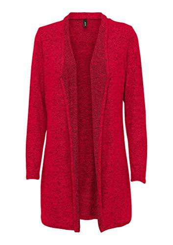 SOYACONCEPT - Damen Jersey Jacke, SC-Biara 21 (23798), Größe:M, Farbe:rot (94248)