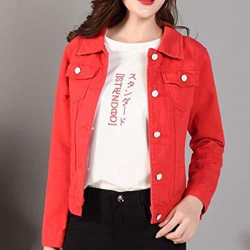 NZJK damesmode jeanjas herfst casual lange mouwen basic short jean jack vintage harajuku mantel