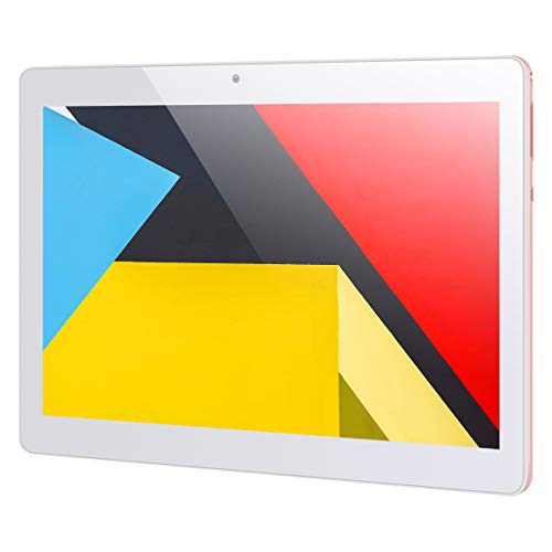 10.1'' Inch Google Android 10.0 Tablet PC,PADGENE 4G Phablet Pad with 4GB RAM 64GB ROM, Supports TF Card(can be extended up to 256GB), Octa-Core, 5G WiFi, 6000mAh Battery, Google play (64GB, Pink)