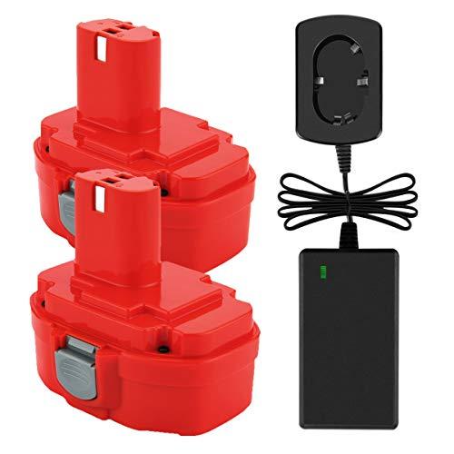 Chargeur pour Bosch 3454sb 34614 35614 3660k 2in1 set Batterie 14,4v 3000mah