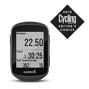"""Garmin Edge 130 - Ciclocomputador con GPS (Pantalla de 1.8"""", autonomía de 15 h) Color Negro, Adultos Unisex, Talla Única"""