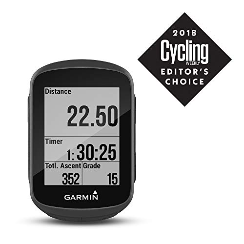 Garmin Edge 130 GPS Bike Computer, Black & Unisex – Adults Access, Bike Speed and Cadence Sensor 2, Black, One Size