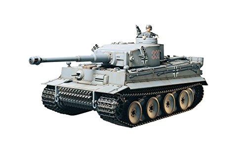タミヤ 1/16 ラジオコントロールタンクシリーズ No.9 ドイツ重戦車 タイガーI 初期生産型 フルオペレーショ...