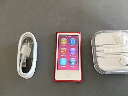 Music Player Apple iPod Nano 7ª generación 16 GB, edición especial roja en caja blanca