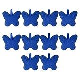 Balacoo 10 Piezas Acuario Piedras de Aire Mariposa Tanque de Peces Aireador Burbuja de Oxígeno Difusor Airstones Bomba de Aire Accesorios para Acuario Tanque Bomba Azul Estilo Aleatorio