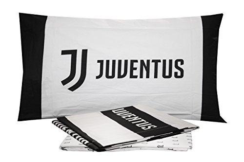 Juventus Completo Lenzuola Letto Singolo 1 Una Piazza Ufficiale FC Nuovo Logo JJ