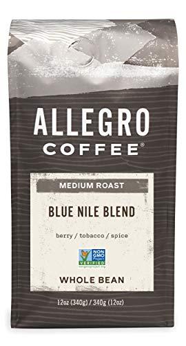 Allegro Coffee Blue Nile Blend Whole Bean Coffee, 12 oz
