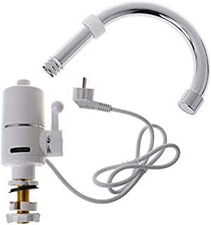 JohnnyBui - Electric Heating Water Tap Tankless Instant Water Heater Faucet For Bathroom Kitchen