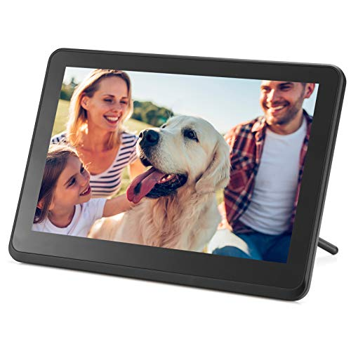 Digital Picture Frame WiFi Digital Photo Frame YEEHAO 1920x1080 Touch Screen, Support Thumb USB Drive and SD Slot, Music Player, Share Photos and Videos via APP, Cloud, Email(10 inch)
