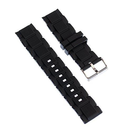 Calypso Reloj de pulsera brazalete deportivo de material PU Negro para Calypso K5577Relojes