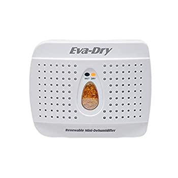 Eva-Dry Wireless Mini Dehumidifier White  E-333