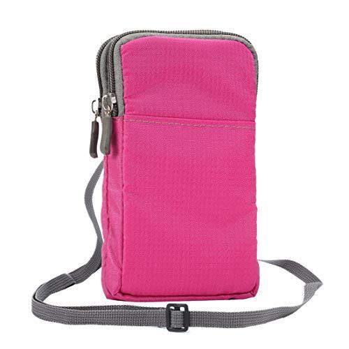 Funda para teléfono celular para Samsung S21 5G, S20 5G, Note10, s10, s20, monedero de bolsillo de cintura y bolsa de teléfono