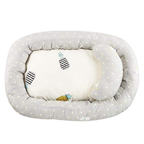 Y-nest Babynestchen Für Kinderbett,Baby Bionic Bett, Reisebett, 100% Baumwolle, Antiallergisch, Multifunktionales Kuschelnest Für Babys Und Säuglinge Nestchen