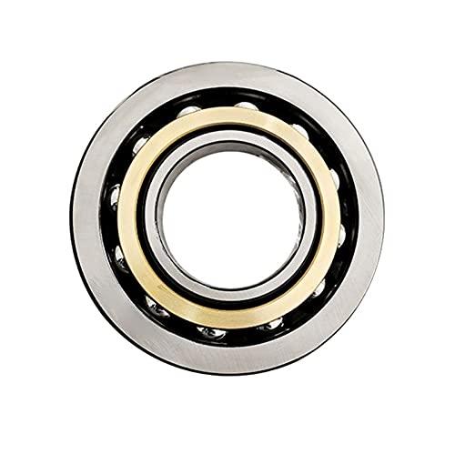 7022 Angular contact ball bearings, 110 mm x 170 mm x 28 mm, single row, open type, bearing steel, 1 piece (Size : 7022ACM)