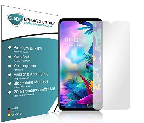 Slabo 4 x Bildschirmschutzfolie für LG G8X ThinQ Bildschirmfolie Schutzfolie Folie Zubehör Crystal Clear KLAR