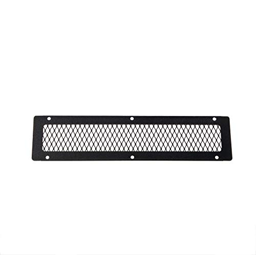 HY-C VG0416G-1B Galvanized Steel Soffit VentGuard with Black Wildlife Exclusion Screen, 16″ x 4″
