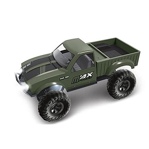 Lihgfw Voiture télécommandée tout-terrain 2,4 GHz, voiture télécommandée tout-terrain électrique tout-terrain 25 MPH 4WD, avec phares à LED, amortisseur indépendant, camion RC, voiture jouet étanche (