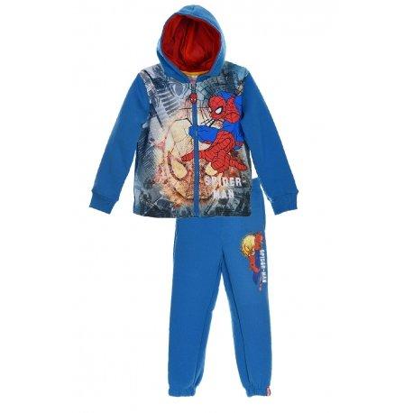 Spiderman Kids Jogging Set Tracksuit - Blue - 5-6 Years